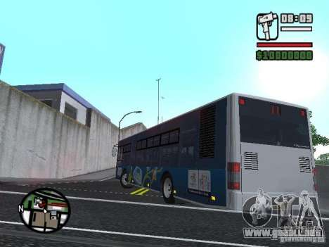 CityLAZ 12 LF para GTA San Andreas left