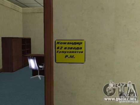 Cuerpo de cadetes de Krasnoyarsk para GTA San Andreas