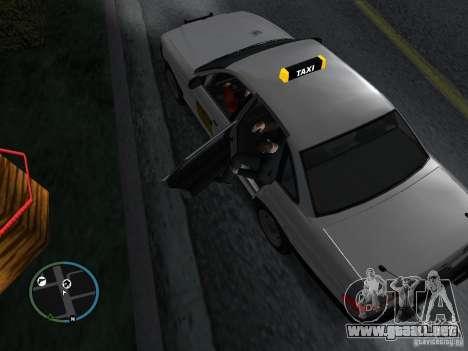Taxi mod para GTA San Andreas