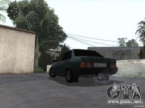 Vaz 21099 drenaje para GTA San Andreas left