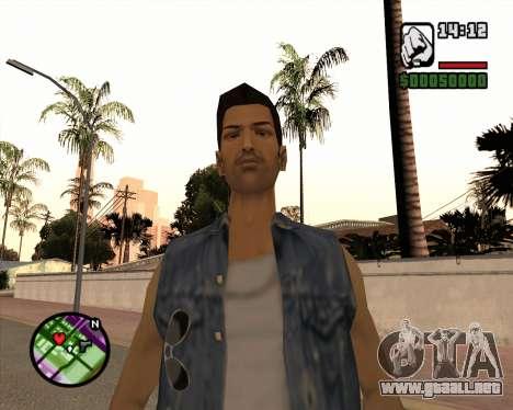 Tommy para GTA San Andreas segunda pantalla