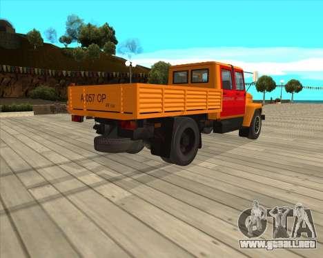 Luces de peligro GAZ 3309 para GTA San Andreas