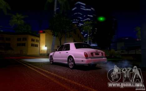 Bentley Arnage para vista inferior GTA San Andreas