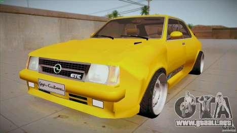 Opel Kadett D GTE Mattig Tuning para GTA San Andreas