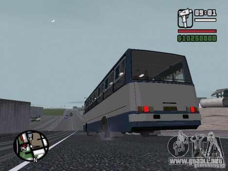 Ikarus 260.27 para la visión correcta GTA San Andreas