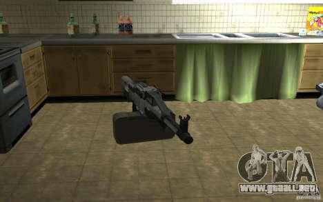 Pechenegos PKP ametralladora para GTA San Andreas segunda pantalla