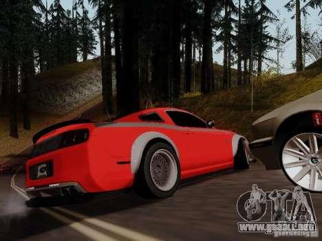 Ford Mustang RTR Spec 3 para GTA San Andreas left
