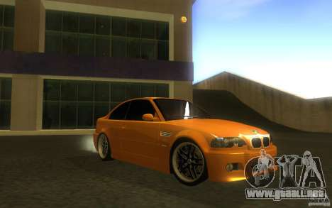 BMW M3 E46 V.I.P para vista lateral GTA San Andreas