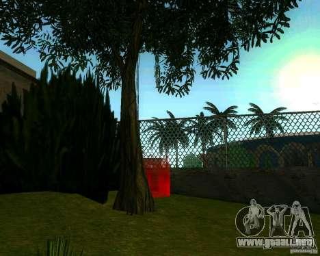 Manzano para GTA San Andreas sucesivamente de pantalla