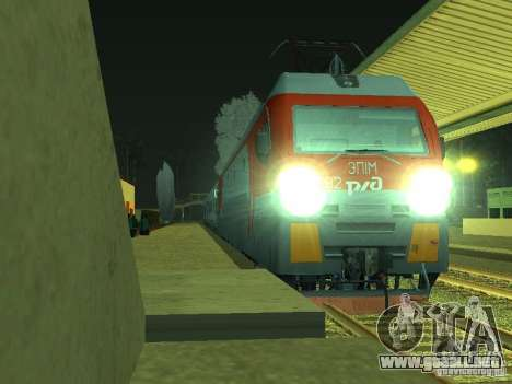 ÈP1M-392 OJSC «RUSSIAN RAILWAYS» para GTA San Andreas left