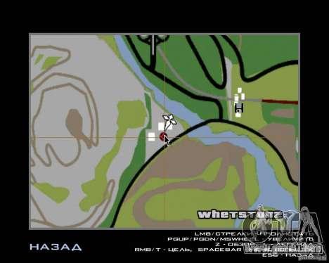 Barney sin hogar para GTA San Andreas octavo de pantalla
