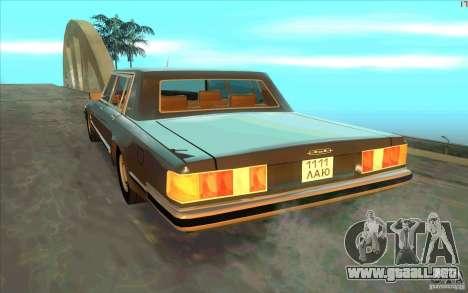 ZIL 41041 para GTA San Andreas vista posterior izquierda