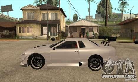 Nissan Silvia S15 + Elegy para GTA San Andreas left