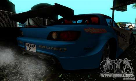 Honda S2000 Tunable para GTA San Andreas interior