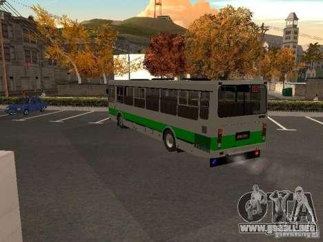 LIAZ 5256.45-01 para GTA San Andreas vista posterior izquierda