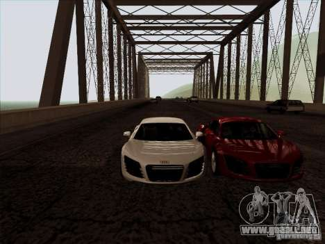ENBSeries para GTA San Andreas octavo de pantalla