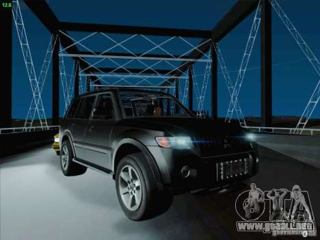 Mitsubishi Montero para la vista superior GTA San Andreas