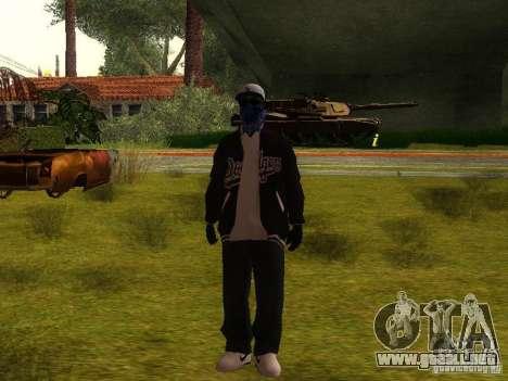 Crips para GTA San Andreas quinta pantalla