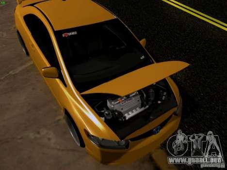 Honda Civic Si JDM para la visión correcta GTA San Andreas