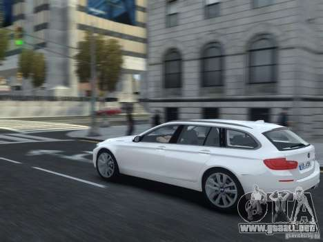 BMW M5 F11 Touring V.2.0 para GTA 4 visión correcta