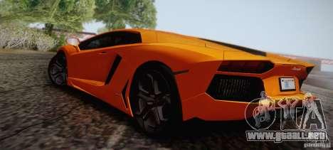 Lamborghini Aventador LP700-4 Final para vista inferior GTA San Andreas