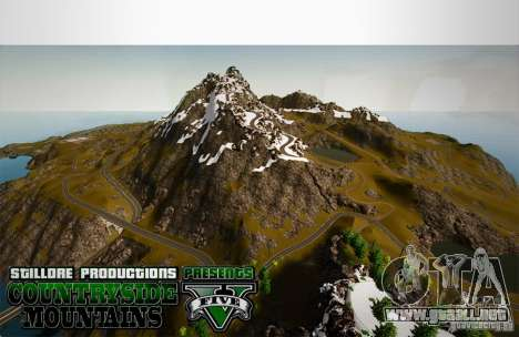 Countryside Mountains V para GTA 4