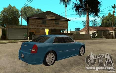 Chrysler 300C 6.1 SRT-8 2007 para la visión correcta GTA San Andreas