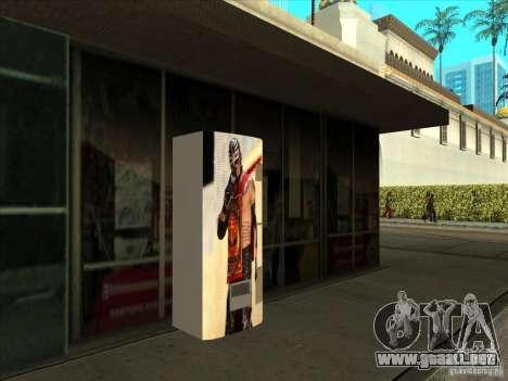 Gaseosa Ray Mysterio para GTA San Andreas segunda pantalla