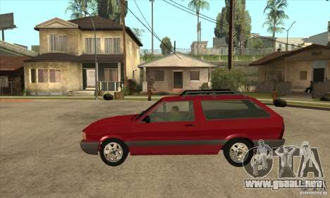 VW Parati GL 1994 para GTA San Andreas left