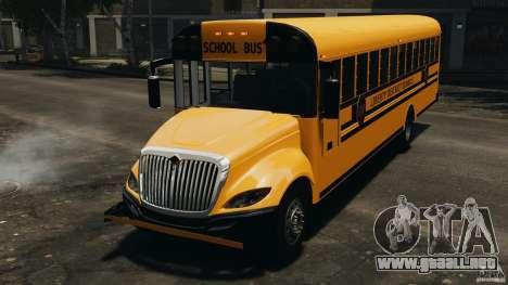 School Bus v1.5 para GTA 4