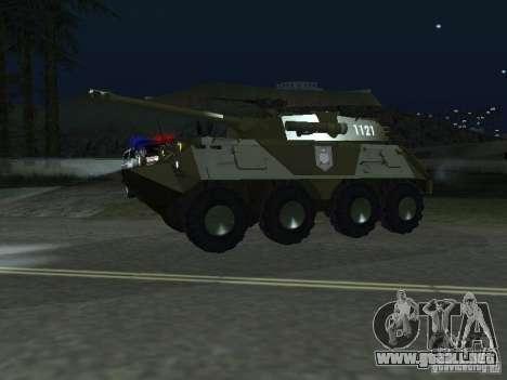APC-60FSV para GTA San Andreas vista posterior izquierda