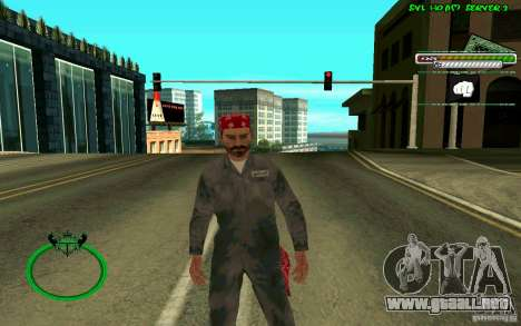 Mechanik HD Skin para GTA San Andreas