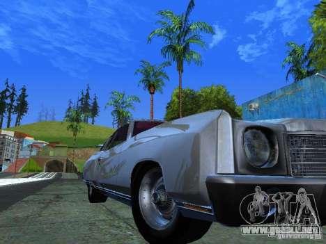 Chevrolet Monte Carlo 1970 para GTA San Andreas vista posterior izquierda