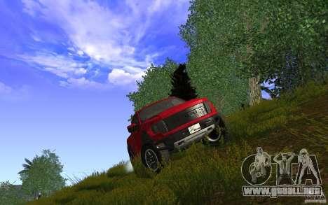 Ford F150 SVT RapTor para la visión correcta GTA San Andreas