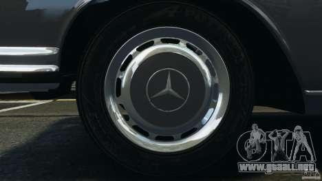 Mercedes-Benz 300Sel 1971 v1.0 para GTA motor 4