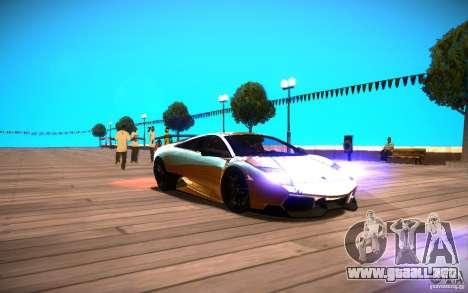 ENBSeries by Inno3D para GTA San Andreas sucesivamente de pantalla