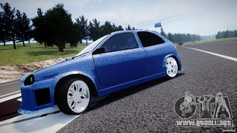 Chevrolet Corsa Extreme Revolution para GTA 4 vista interior
