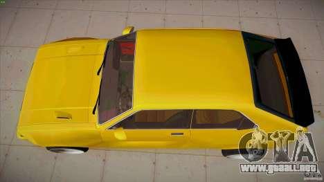 Opel Kadett D GTE Mattig Tuning para la visión correcta GTA San Andreas
