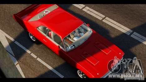Dodge Demon 1971 para GTA 4 left