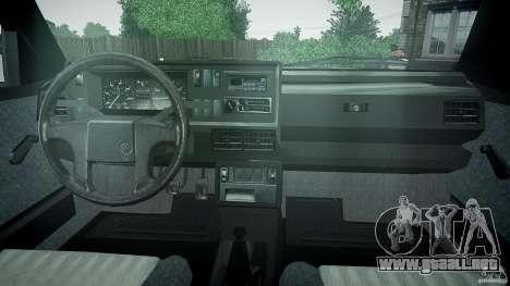 Volkswagen GOLF MK2 GTI para GTA 4 visión correcta