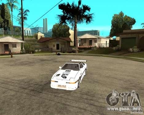 Toyota Supra MK3 Tuning para visión interna GTA San Andreas