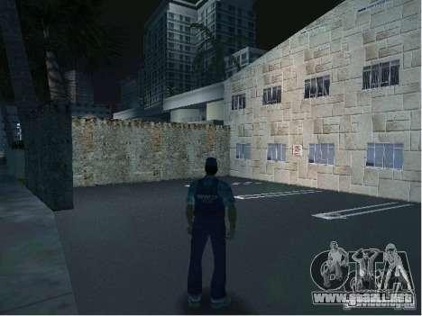 Nuevos patrones de la estación de policía para GTA Vice City sucesivamente de pantalla