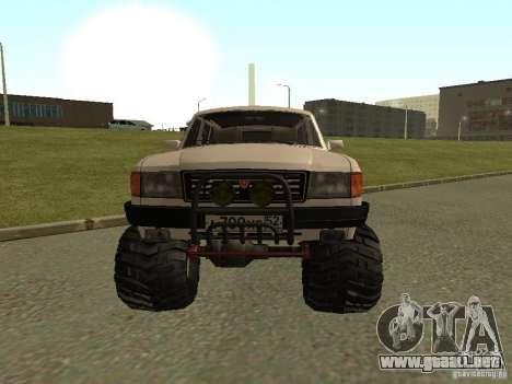 31022 Volga GAS 4 x 4 para GTA San Andreas left