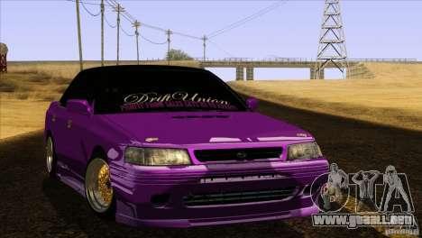 Subaru Legacy Drift Union para GTA San Andreas