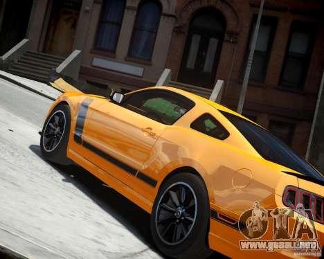 Ford Mustang Boss para GTA 4 visión correcta