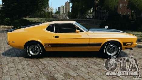 Ford Mustang Mach 1 1973 para GTA 4 left
