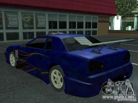 Elegía de tapas convertibles para el motor de GTA San Andreas