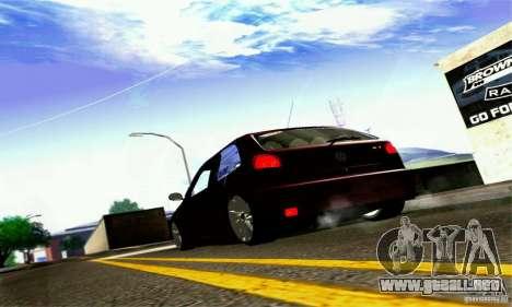 Volkswagen GOL G2 Tuning para GTA San Andreas vista hacia atrás
