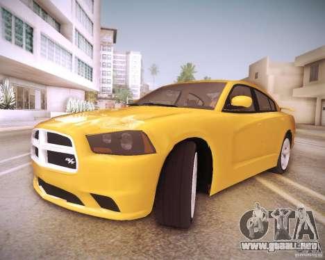 Dodge Charger 2011 v.2.0 para GTA San Andreas interior