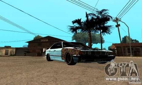BMW 525 para GTA San Andreas left